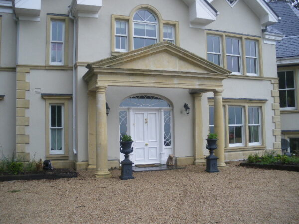 Large Portico in Wicklow