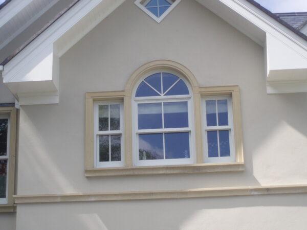 Venetian window surround in Wicklow