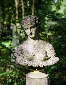 Bust of Antonia statue