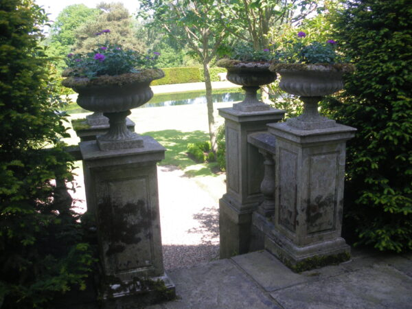 George IV Tazza Urns, Simonstown Architectural & Garden Ornaments agents for Chilstone