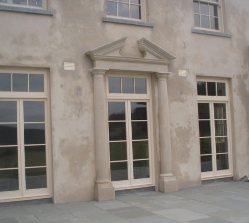 Flat Portico, Co Westmeath