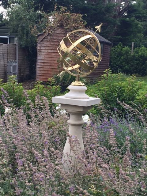 Jupiter Armillary Sphere on Baluster