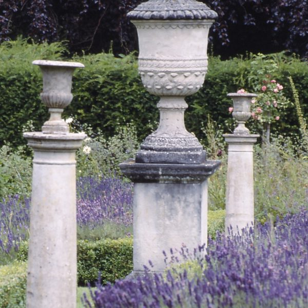Longleat with lavender
