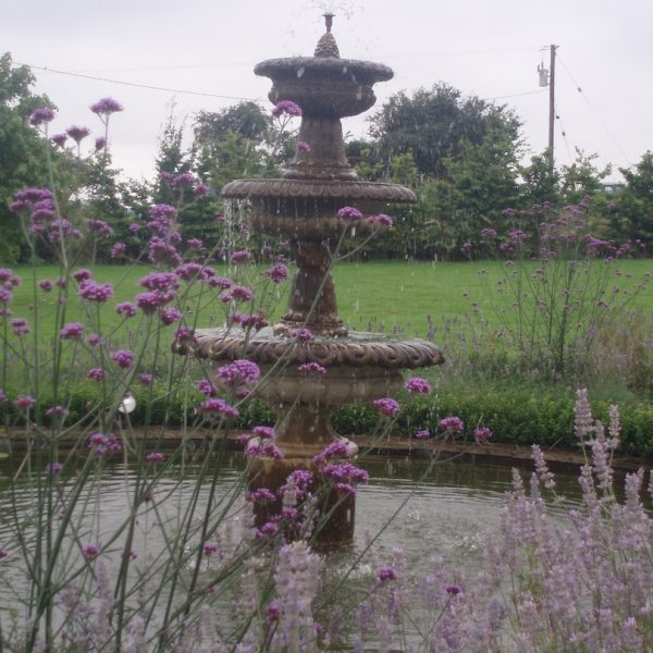 Tunbridge stone fountain